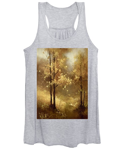Golden Forest Women's Tank Top