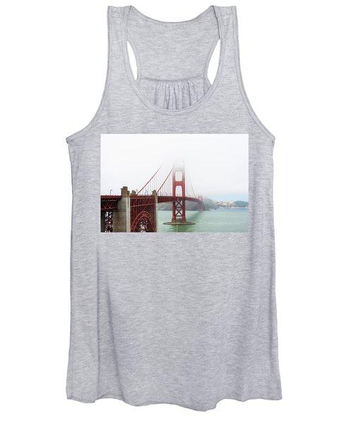 Golden Gate In The Fog Women's Tank Top