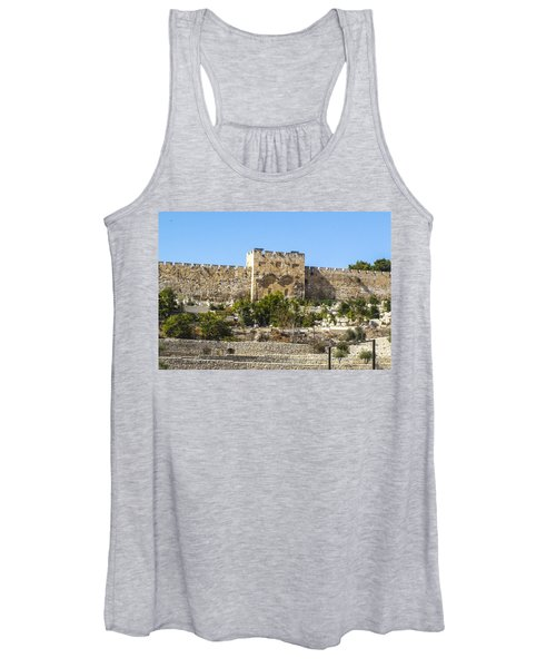 Golden Gate Jerusalem Israel Women's Tank Top