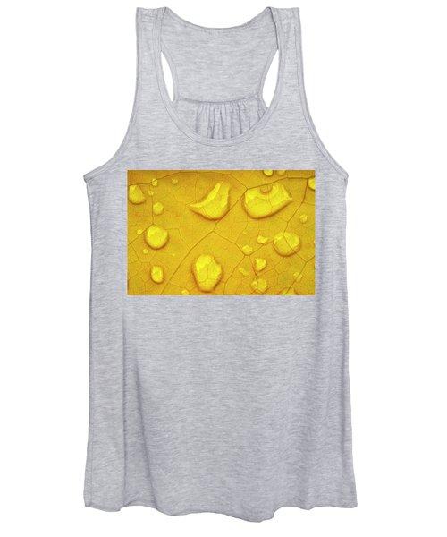 Golden Leaf Women's Tank Top