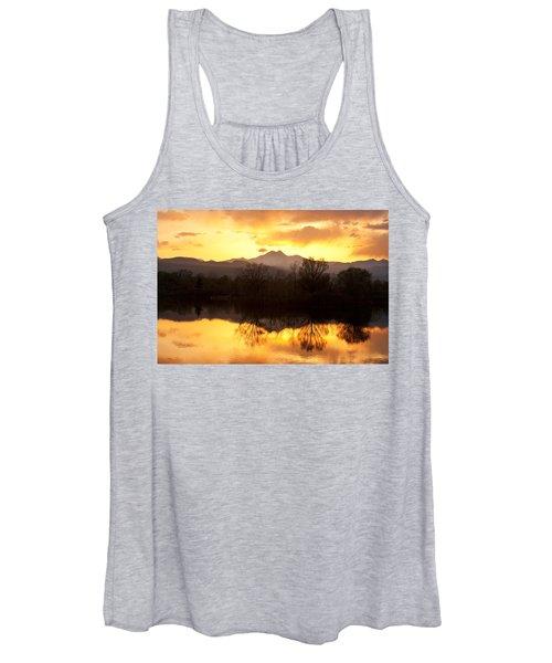 Golden Ponds Longmont Colorado Women's Tank Top