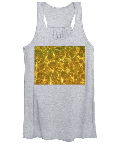 Golden Wave Women's Tank Top