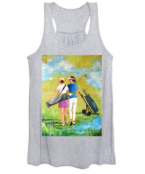 Golf Buddies #1 Women's Tank Top