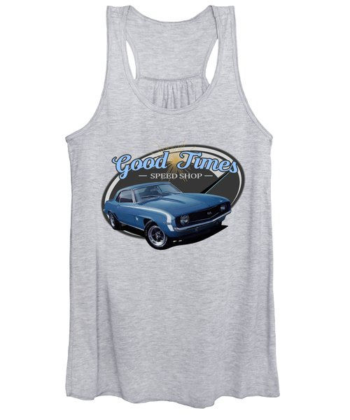 Good Times Speed Shop Camaro Women's Tank Top