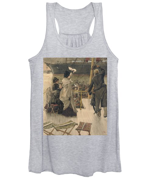 Goodbye On The Mersey Women's Tank Top