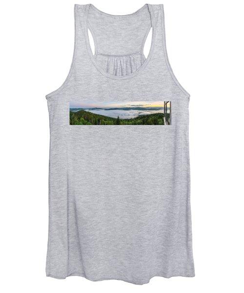 Goodnow Mountain Panorama Women's Tank Top
