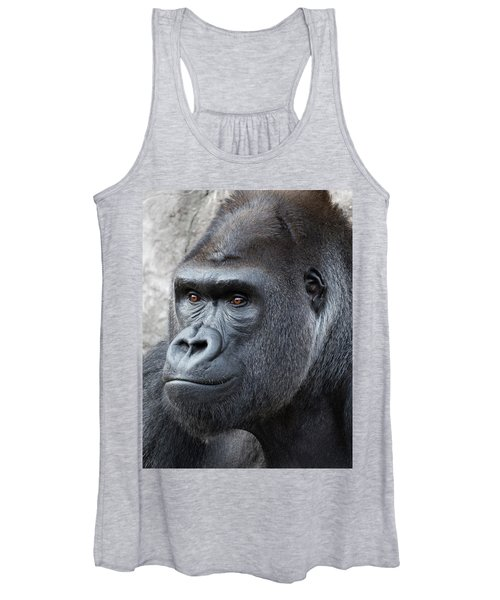 Gorillas In The Mist Women's Tank Top