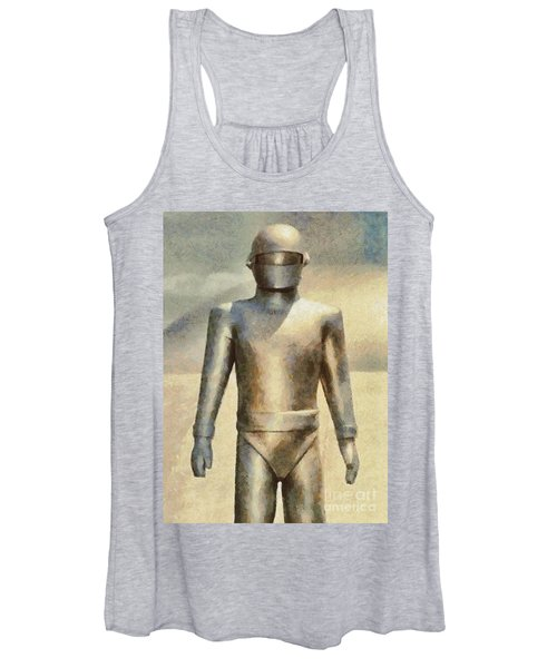 Gort From The Day The Earth Stood Still Women's Tank Top