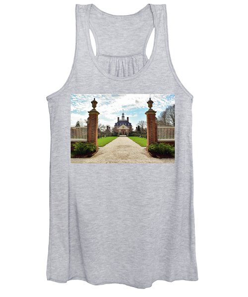 Governor's Palace In Williamsburg, Virginia Women's Tank Top