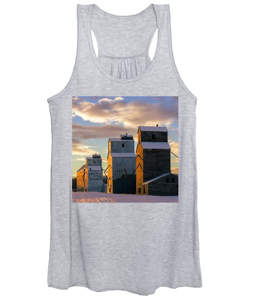 Grainery Row Square Women's Tank Top