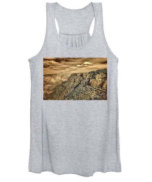 Grand Canyon In Infrared Women's Tank Top