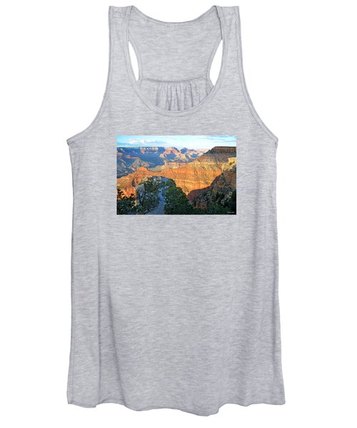 Grand Canyon South Rim At Sunset Women's Tank Top