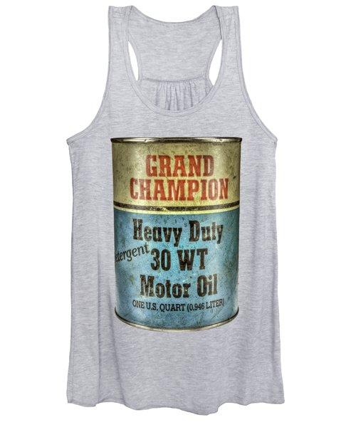 Grand Champion Motor Oil Women's Tank Top