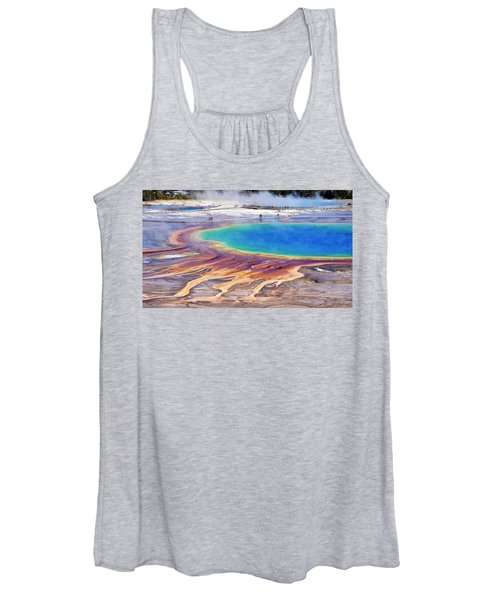 Grand Prismatic Spring Women's Tank Top
