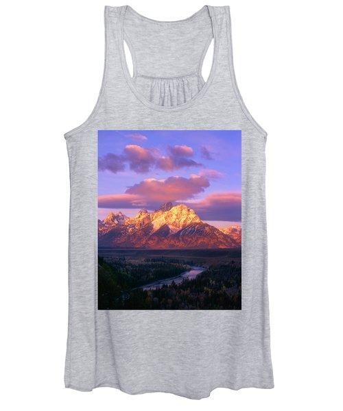 Grand Teton Sunrise Women's Tank Top