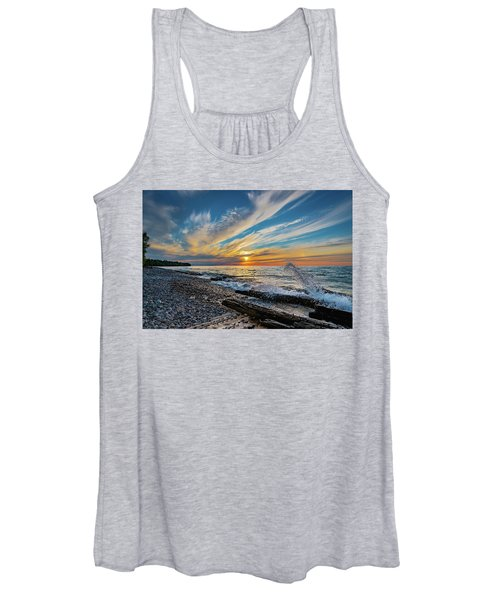 Graveyard Coast Sunset Women's Tank Top