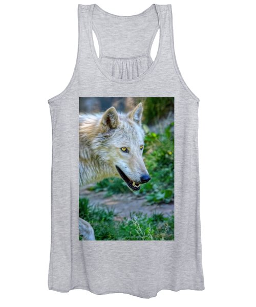 Gray Wolf Women's Tank Top