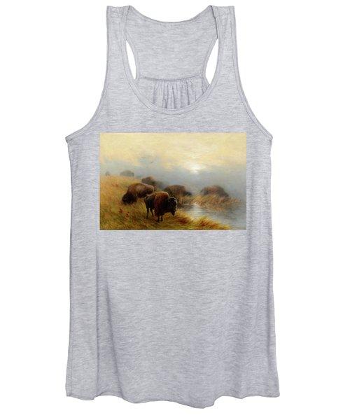 Grazing Buffalo Women's Tank Top