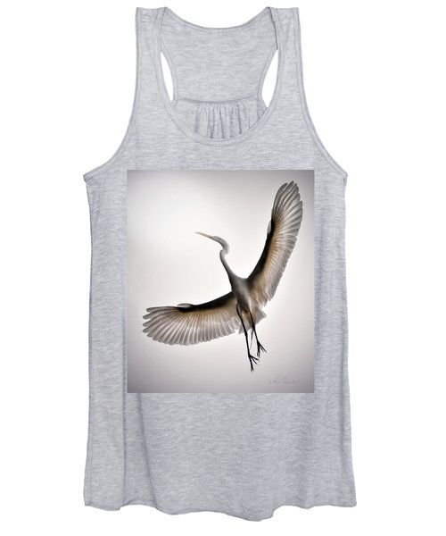Great Egret Majesty Women's Tank Top