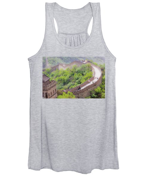 Great Wall At Badaling Women's Tank Top