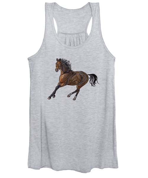 Grecian Horse Women's Tank Top