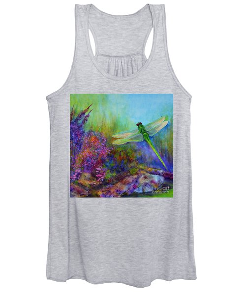 Green Dragonfly Women's Tank Top