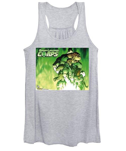 Green Lantern Corps Women's Tank Top