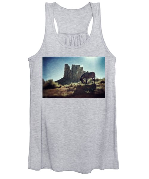 Greetings From The Wild West Women's Tank Top