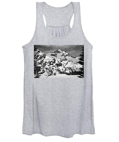 Grey Wolf Peak, Mission Mountains Women's Tank Top