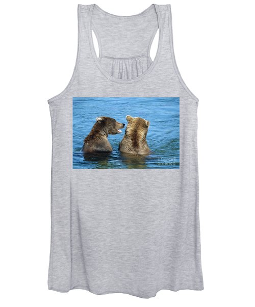 Grizzly Bear Talk Women's Tank Top