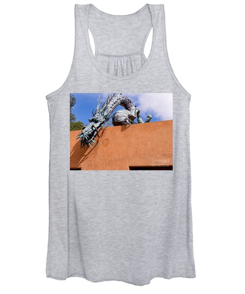 Santa Fe Guardian Dragon Women's Tank Top