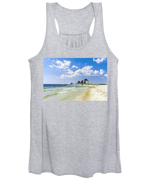 Gulf Shores Al Beach Seascape 1746a Women's Tank Top
