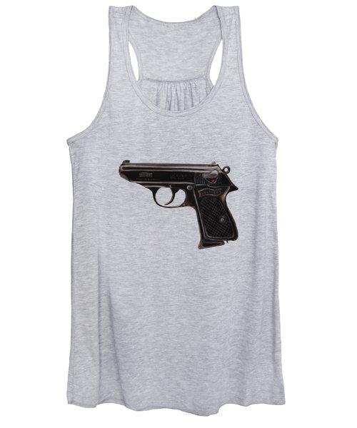 Gun - Pistol - Walther Ppk Women's Tank Top