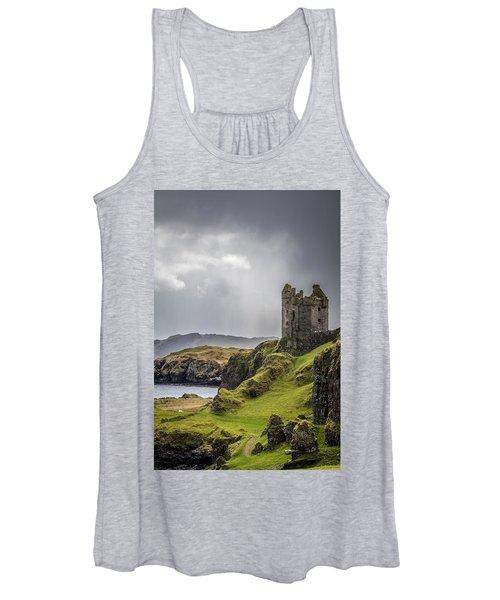 Gylen Castle On Kerrera In Scotland Women's Tank Top
