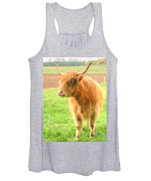 Hairy Coos Women's Tank Top