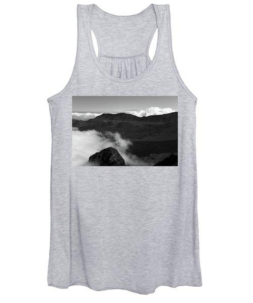 Haleakala B/w Women's Tank Top