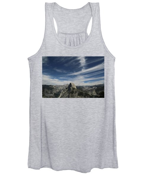 Half Dome Sky Women's Tank Top