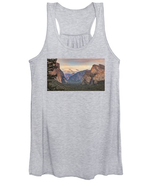 Yosemite Sunset Women's Tank Top