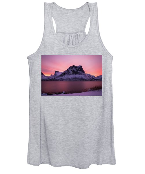 Halo In Pink Women's Tank Top