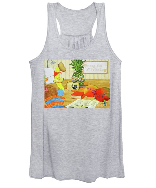 Hang Out With Friends Women's Tank Top