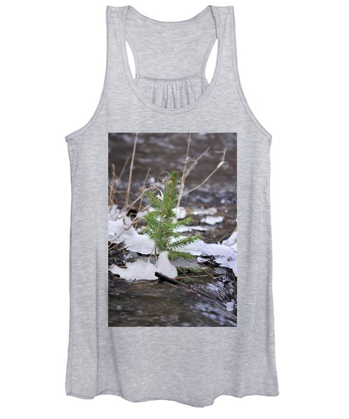Hanging In There Women's Tank Top