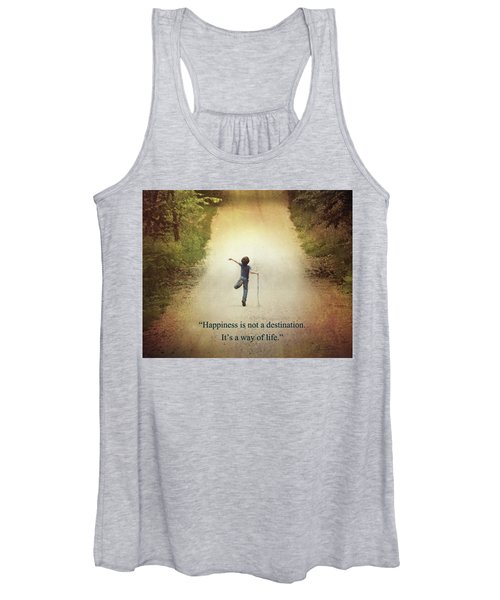 Happiness Women's Tank Top