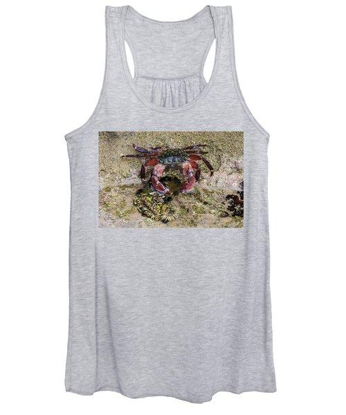 Happy Little Crab Women's Tank Top