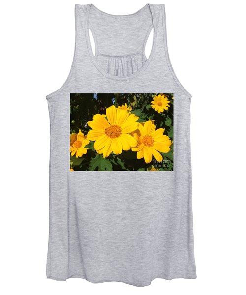 Happy Yellow Women's Tank Top
