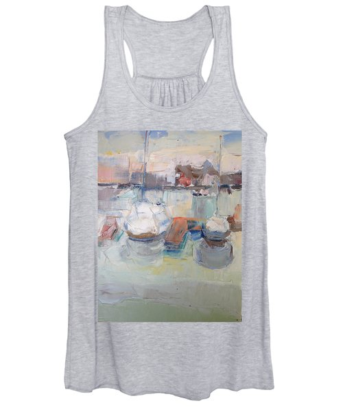Harbor Sailboats Women's Tank Top