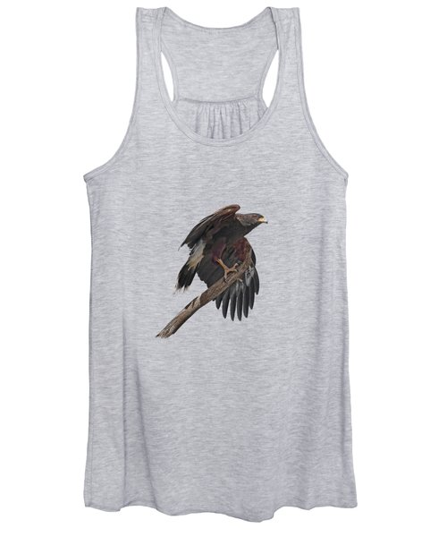 Harris Hawk - Transparent Women's Tank Top