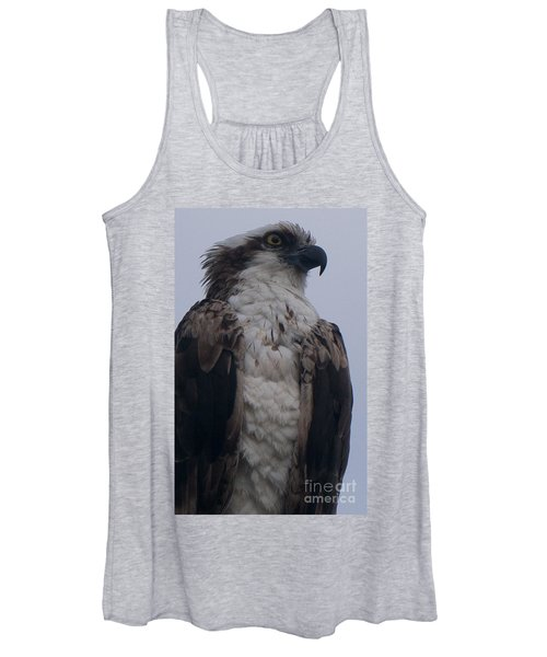 Hawk Looking Into The Distance Women's Tank Top