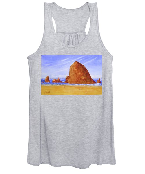 Hay Stack Rock Women's Tank Top
