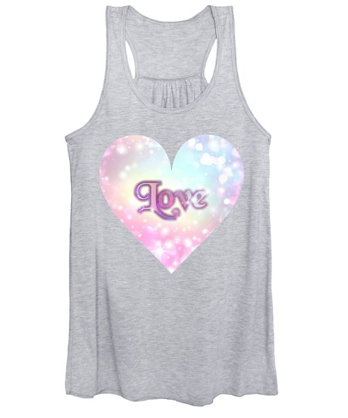 Heart Of Love Women's Tank Top