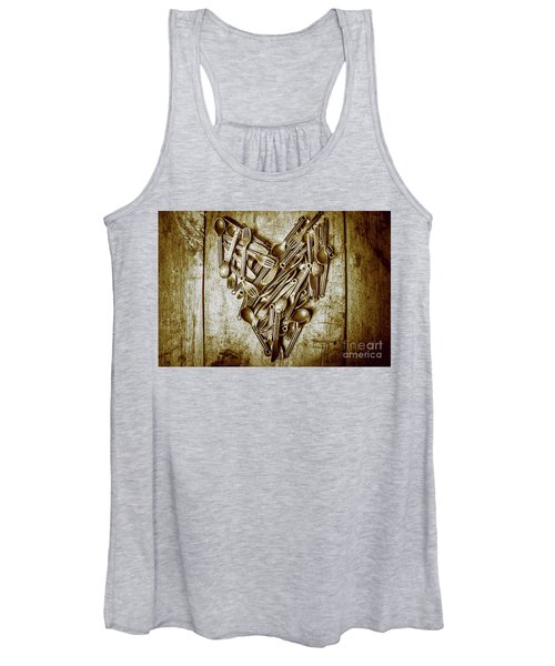 Heart Of The Kitchen Women's Tank Top